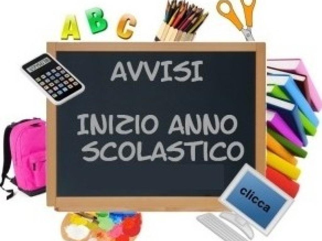 INIZIO A.S. 2020/2021