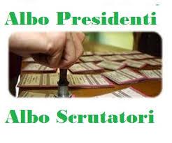 AGGIORNAMENTO ALBO PRESIDENTI DI SEGGIO ELETTORALE E DI SCRUTATORE - DOMANDA
