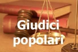 AGGIORNAMENTO ALBO GIUDICI POPOLARI DI CORTE D'ASSISE E CORTE D'APPELLO